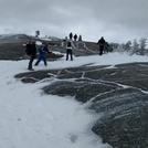 Mt. Cardigan near summit