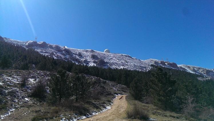 North face Sierra de Aitana