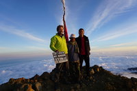 On Summit Mount Rinjani photo