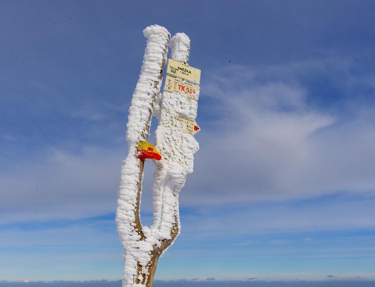Peak of Snezka, Snezka or Sněžka