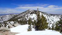 San Jacinto as seen from Jean Peak, Mount San Jacinto Peak photo