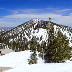 San Jacinto as seen from Jean Peak, Mount San Jacinto Peak