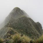 Heading to Hector on Neil Winchcombe Ridge, Mount Hector