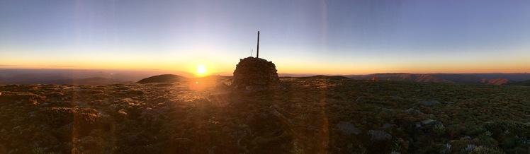 Summit cairn, Mount Bogong