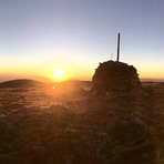 Summit cairn, Mount Bogong