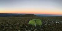 First Light on Summit, Mount Bogong photo