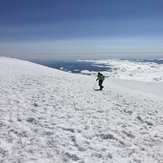 Final approach to summit of Mt Adams, Mount Adams