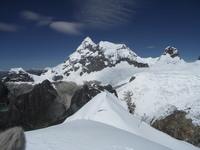 Huantsan from summit Maparaju photo