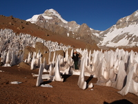 Aconcagua Polish Glacier photo