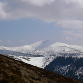 Pogled na Ločiku (2107 m n/v), Vranica