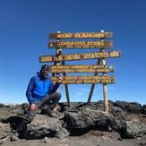 Uhuru Peak 02/08/2017, Mount Kilimanjaro