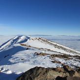 vista falsa cumbre desde la cumbre, Cerro Provincia