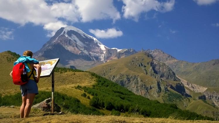 kazbak mountain, Kazbek or Kasbek