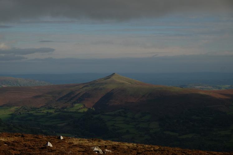 Pen Y Fal, Sugar Loaf Mountain (Wales)