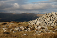 Waun Fach from Pen Cerrig-calch photo