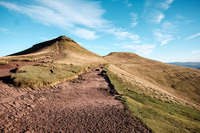 Corn Ddu and Pen y Fan photo
