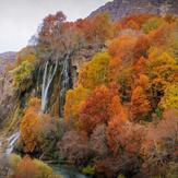 naser ramezani bisheh waterfall, سن بران