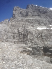 Eiger west ridge photo