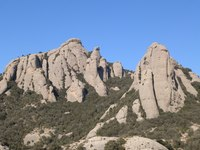 L'Albarda Castellana, Montserrat (mountain) photo