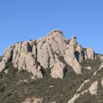 L'Albarda Castellana, Montserrat (mountain)