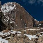Approaching Chasm Lake below the Diamond, Longs Peak