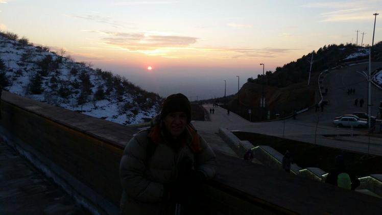 Eynali summit