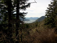 View of Wind Mountain, Dog Mountain photo