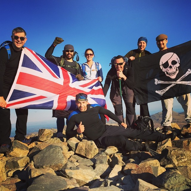 Skafell Pike, April 19th 2015, Scafell Pike