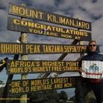 uhuru peak 5895m, Mount Kilimanjaro