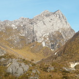 The south wall of Trikora, Puncak Trikora