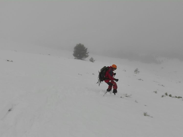 Go down by skies by Najarra´s North Face, La Najarra