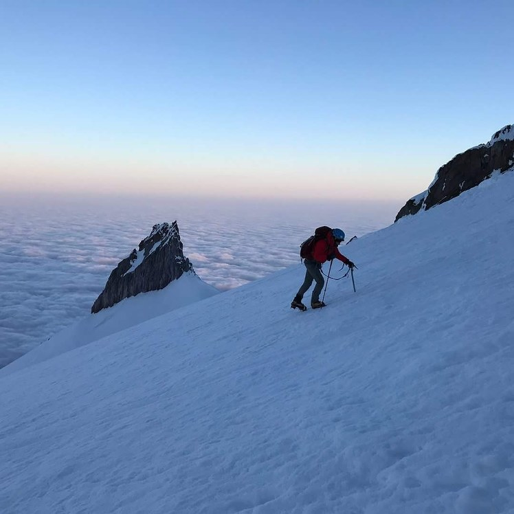 Climbing Mt Hood, Mount Hood