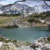 Crno jezero, Treskavica