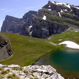 Alpine Lake at 1980m elevation at Tymfi Mt.