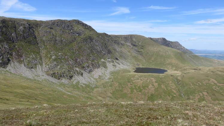 Aran Ridge with Creiglyn Dyfi below, Aran Fawddwy