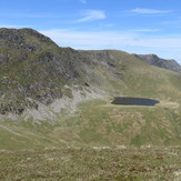 Aran Ridge with Creiglyn Dyfi below, Aran Fawddwy