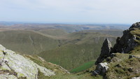 View from Aran Ridge, Aran Fawddwy photo