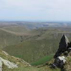 View from Aran Ridge, Aran Fawddwy