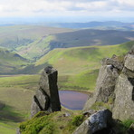 View from Berwyn Ridge, Cadair Berwyn