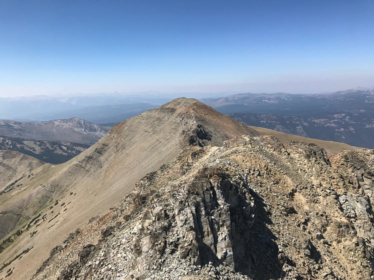 Electric Peak summit