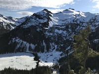 Mount Hinman from Cathedral Pass photo
