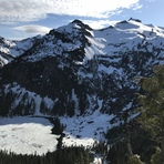 Mount Hinman from Cathedral Pass