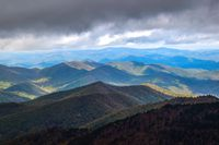 Meeting the Clouds, Mount Mitchell (North Carolina) photo