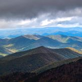 Meeting the Clouds, Mount Mitchell (North Carolina)