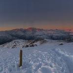 Atardecer en la cumbre18-06-18  17:45, Cerro Provincia