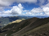 View to the Southwest from summit, Wheeler Peak photo