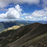View to the Southwest from summit, Wheeler Peak