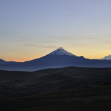Cotopaxi sunrise