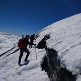 GRIETA SOMITAL EN FEBRERO, Osorno (volcano)