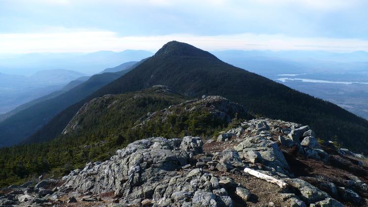 Mount Bigelow ridge., Mount Bigelow (Maine)